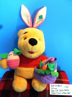 Disney Winnie the Pooh with Easter Basket