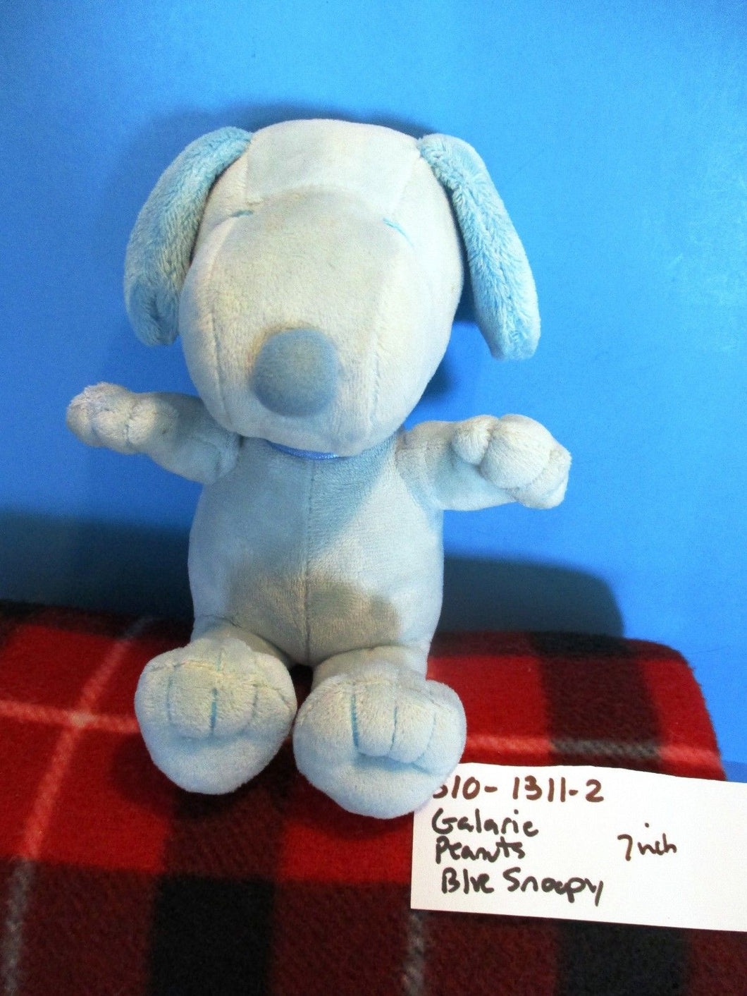 Galerie Peanuts Blue Snoopy plush(310-1311-2)