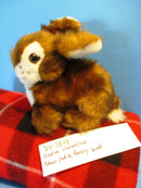 Godiva Chocolatier Brown and White Bunny Rabbit Plush