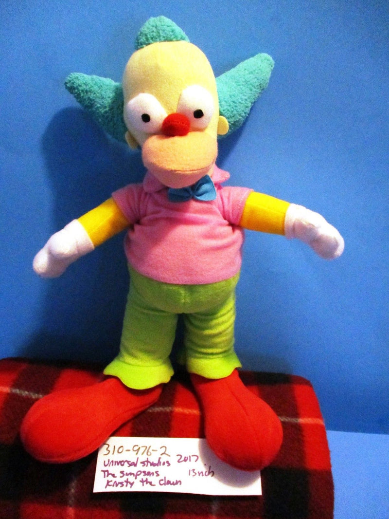 Simpsons Krusty the Clown 2017 Plush