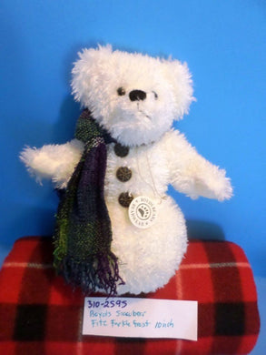 Boyd's Fitz Farklefrost the White Snowman Bear 2000 Plush