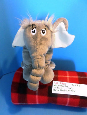 Manhattan Toy Co. Dr Seuss Horton the Elephant 2007 beanbag plush(310-2402)