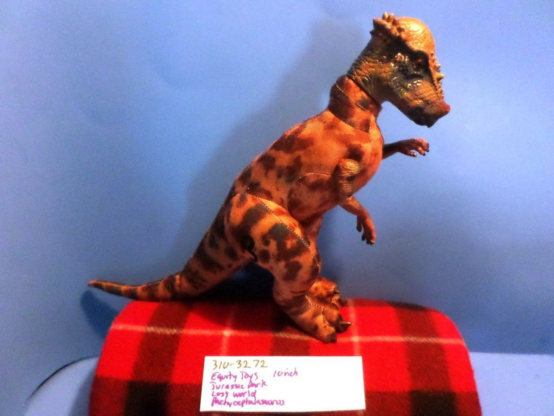 Equity Toys Jurassic Park The Lost World Pachycephalosaurus 1997 Plush