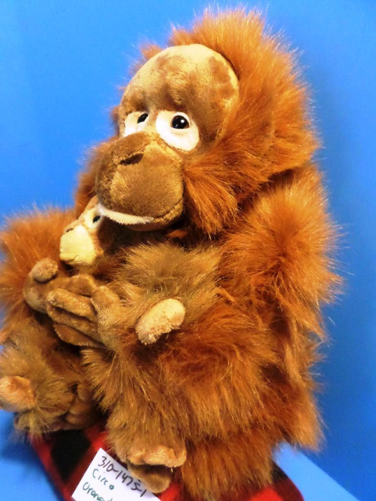 Circo Orangutan and Baby Plush