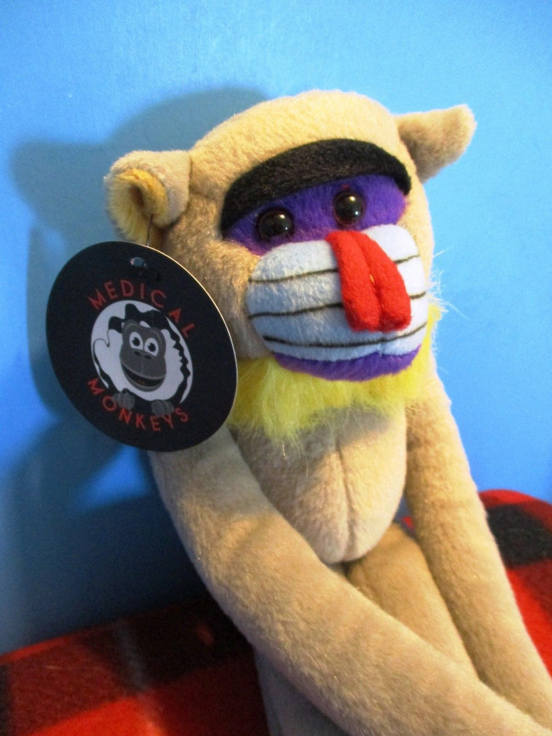Fiesta Hugging Monkey Mandrill Plush