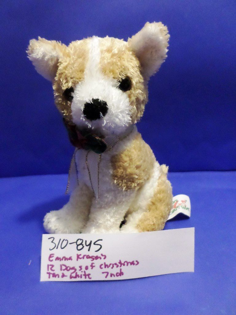 Commonwealth Emma Kragen's 12 Dogs of Christmas Chihuahua 1998 Plush
