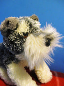 Aurora Fancy Pals Schnauzer in Blue Carrier Bag Beanbag Plush