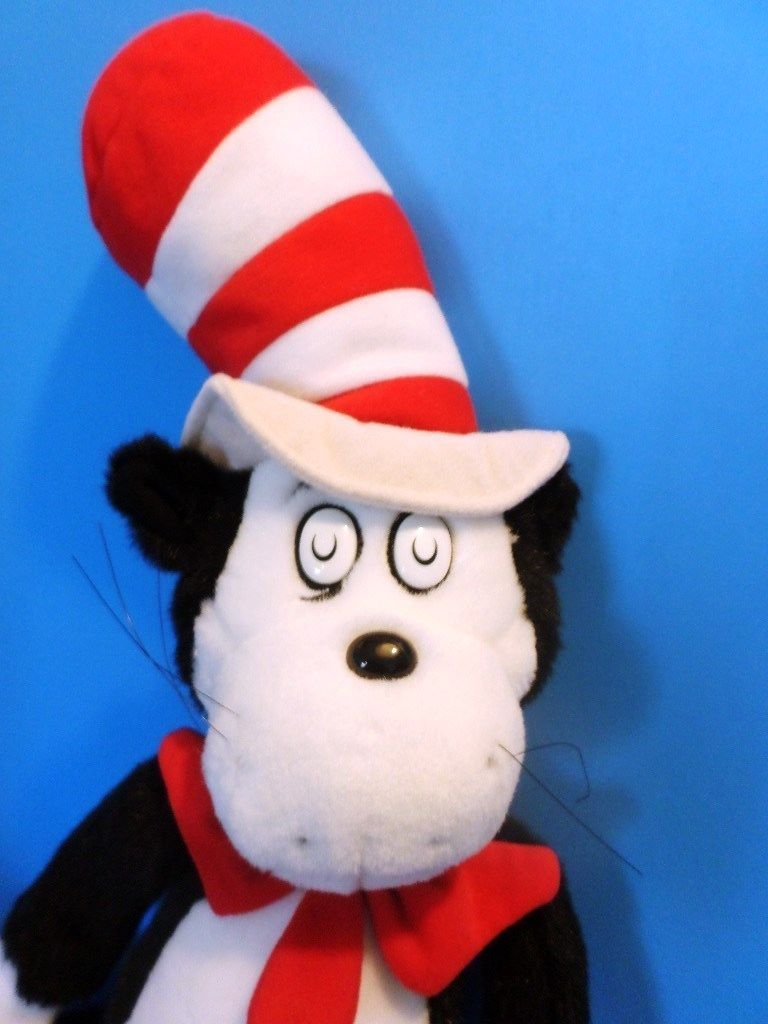 Applause Cat in the Hat 2003 Plush