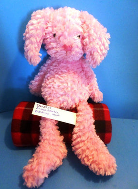 Animal Adventure Pink Bunny Rabbit Plush