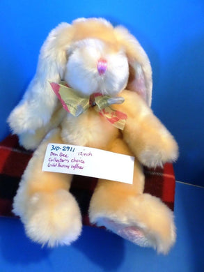Dan Dee Collector's Choice Gold/Yellow Bunny beanbag plush(310-2911)