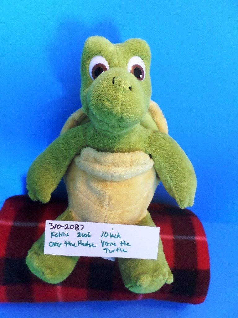 Kohl's Cares DreamWorks Over the Hedge Verne the Turtle 2006 Plush