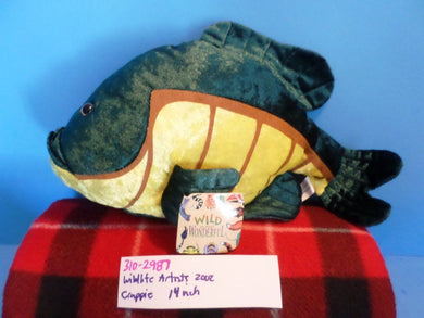 Wildlife Artists Crappie 2002 Plush