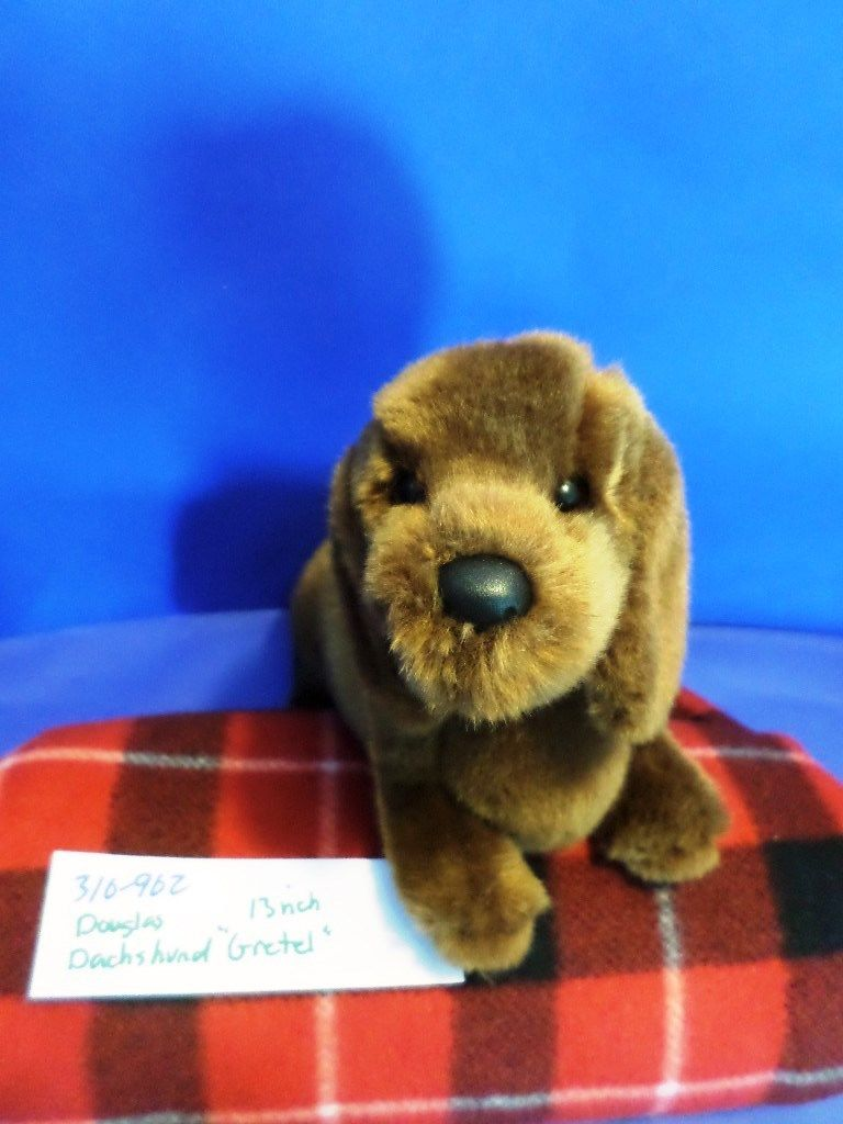 Douglas Gretel Red Dachshund Dog Plush