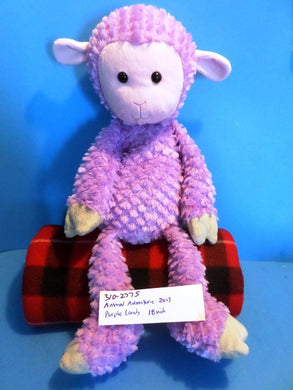 Animal Adventure Purple Lamb 2013 Plush