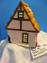Dept 56 Dicken's Series Bob Cratchet/Tiny Tim 1986 Lighted House