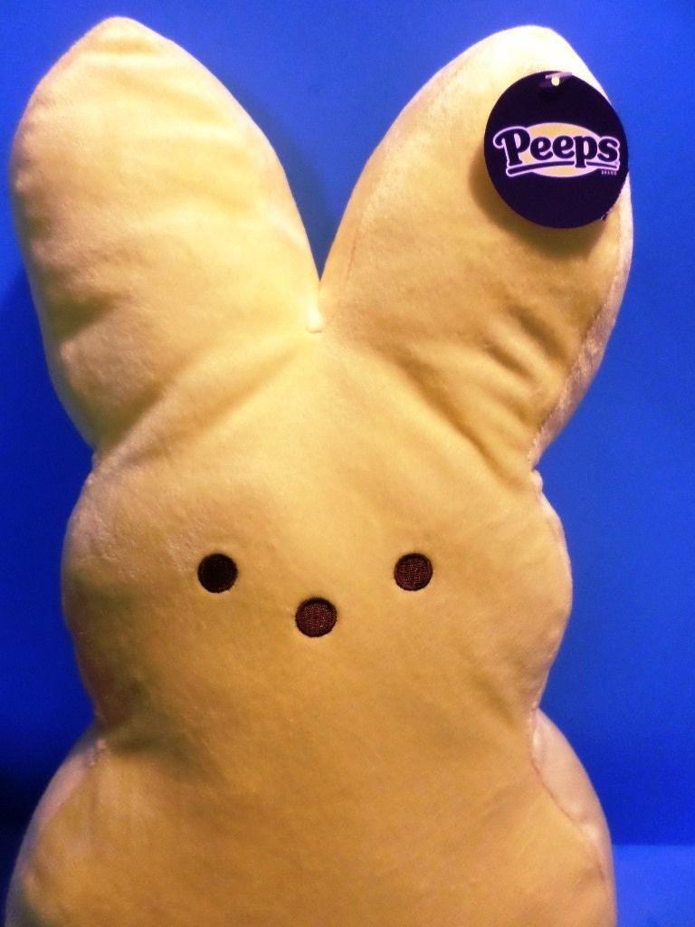 Just Born Peeps Yellow Bunny Plush