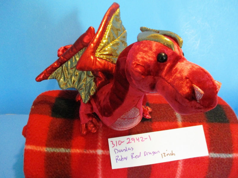Douglas Ruby Red Dragon Plush
