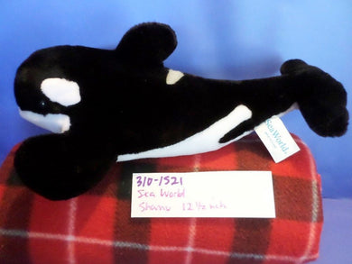 Sea World Shamu Killer Whale Orca plush(310-1521)