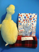 Kohl's Cares Duck for President Yellow Duck Plush and Book