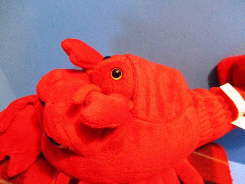 The Petting Zoo Big Eyed Lobster and Baby 2015 Plush