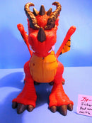Fisher Price 2012 Imaginext Red Winged Eagle Talon Castle Dragon