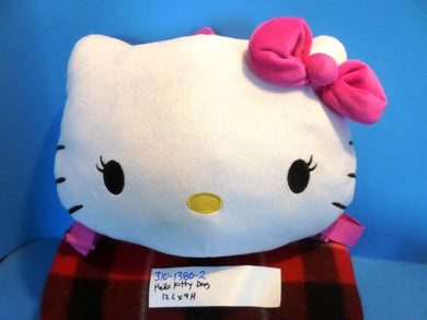 Hello Kitty White Backpack Bag