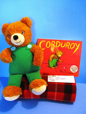 Kohl's Corduroy the Teddy Bear plush and Soft Cover Book(310-3462)
