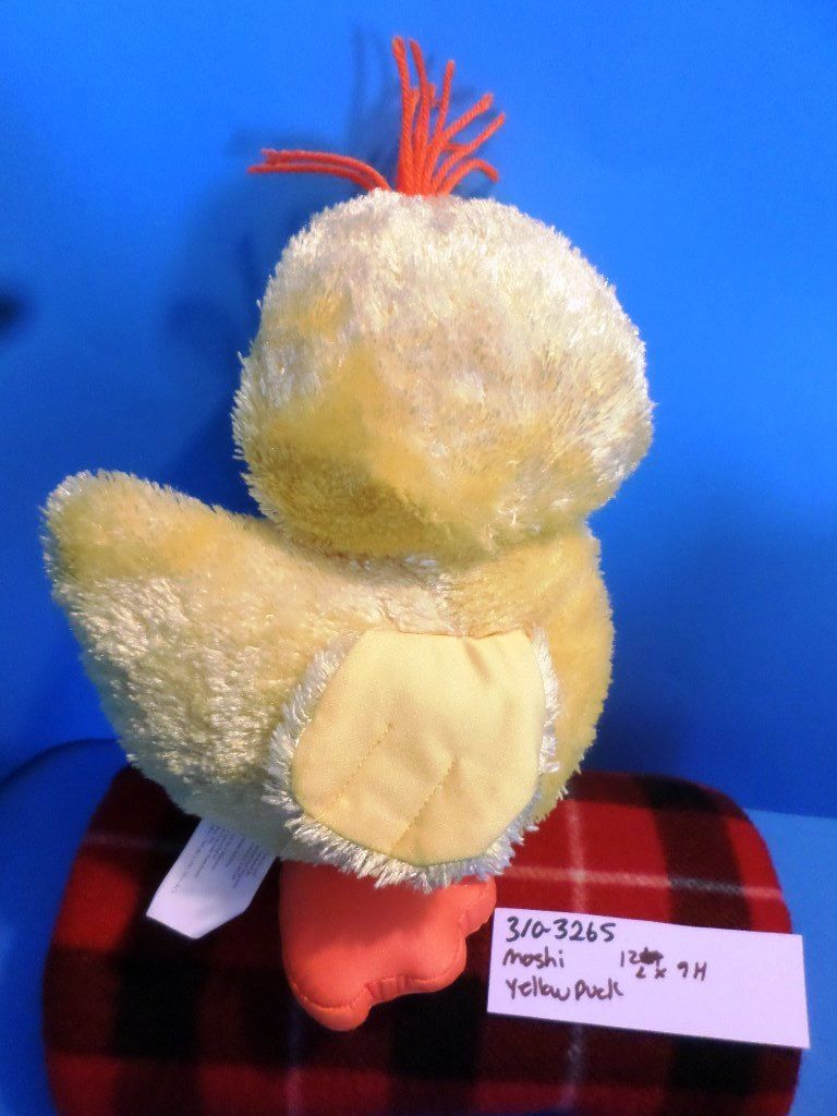 Brentwood Moshi Yellow Duck Microbead Pillow Plush