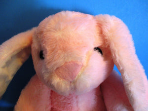 Kelly Toy Pink Bunny Rabbit Rattle Plush