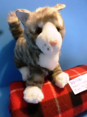 Douglas Zippy the Grey Tabby Plush
