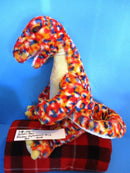 Build-A-Bear Diplodocus Dinosaur Multicolored Confetti 2011 Plush