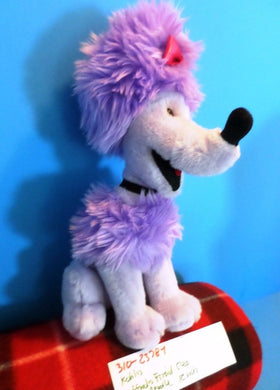 Kohl's Clifford's Friend Cleo the Purple Poodle 2003 Plush