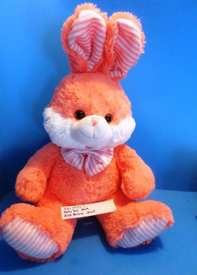 Kelly Toy Pink and White Bunny/Rabbit 2013 plush(310-1942-1)