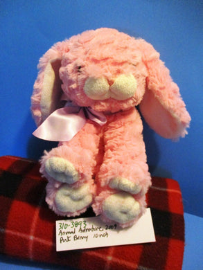 Animal Adventure Pink Bunny Rabbit 2009 Plush