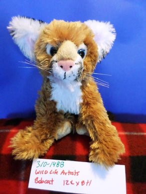 Wildlife Artists Bobcat Plush