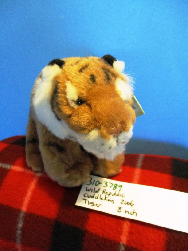 Wild Republic Cuddlekins Bengal Tiger 2006 Beanbag Plush