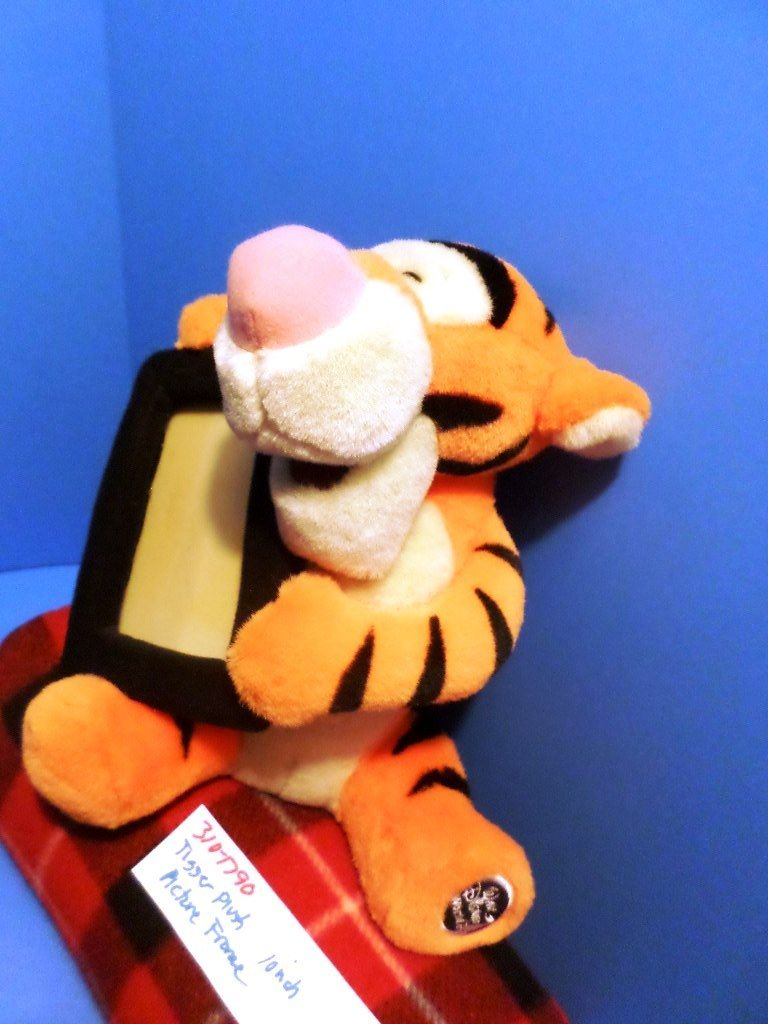 Disney World Tigger Plush with Picture Frame