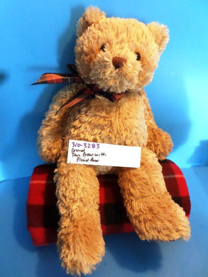Gund Tan Brown Teddy Bear plush(310-3283)
