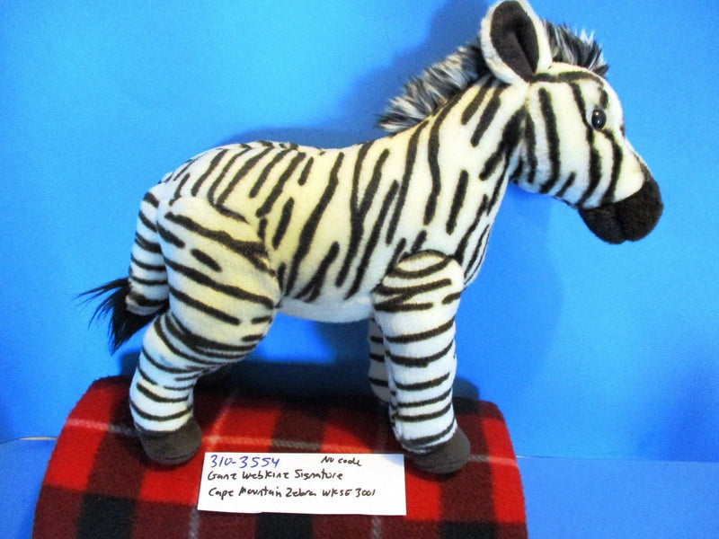 Ganz Webkinz Signature Endangered Cape Mountain Zebra WKSE3001 Plush (No Code)