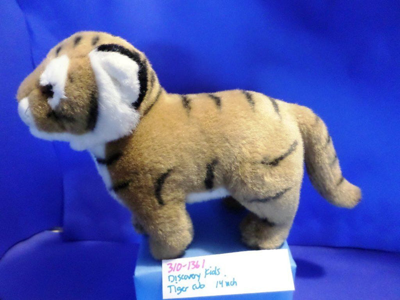 Discovery Channel Store Kids Bengal Tiger Cub Plush