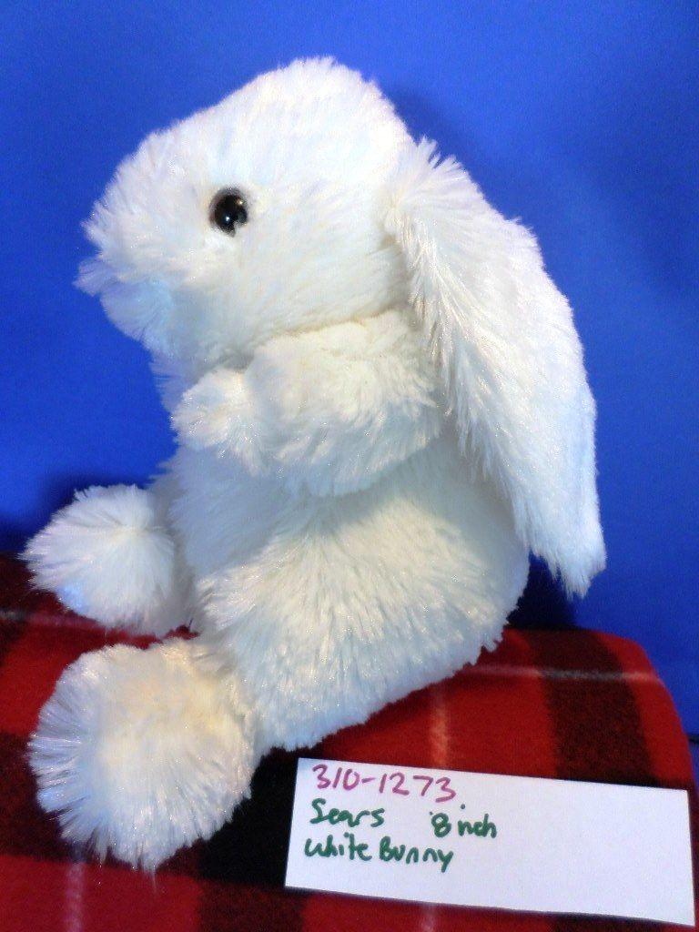Sears White Bunny Rabbit Plush