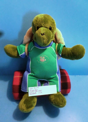 Build a Bear Turtle with Shell Backpack plush (310-3234)