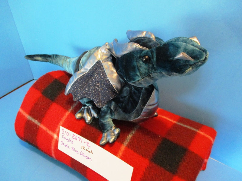 Douglas Jade Blue Dragon Plush