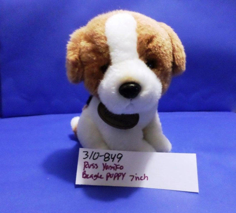 Russ Yomiko Beagle Puppy Plush