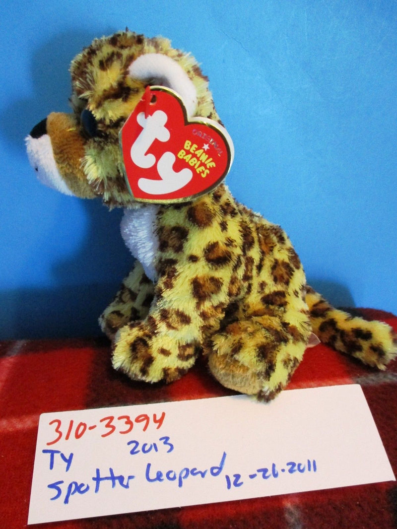 Ty Beanie Babies Spotter the Leopard 2013 Beanbag Plush