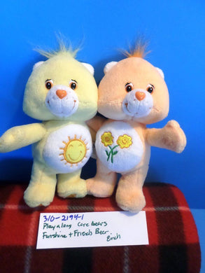 Play-a-Long Care Bears Funshine and Friend Bears(310-2194-1)