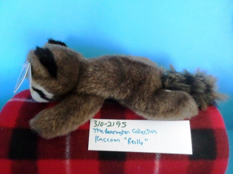 Bearington Collection Reilly Raccoon Beanbag Plush