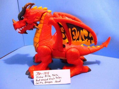Fisher-Price Imaginext Red Winged Eagle Talon Castle Dragon 2012