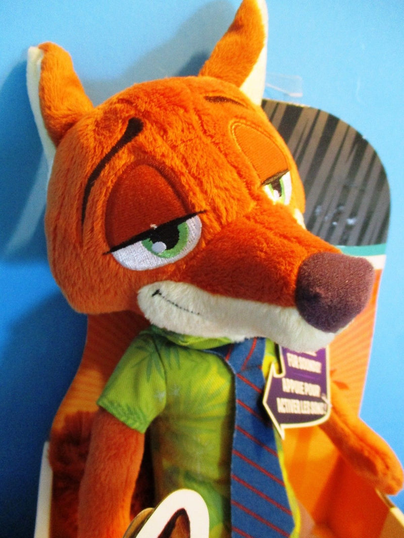 Tomy Disney Zootopia Talking Nick Wilde Plush