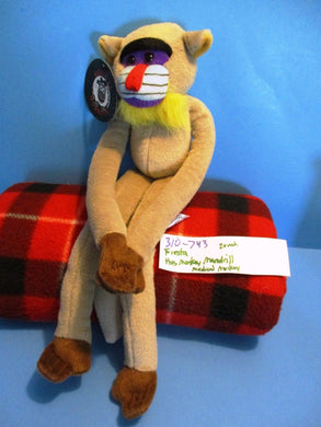 Fiesta Hugging  Monkey Mandrill plush(310-743)